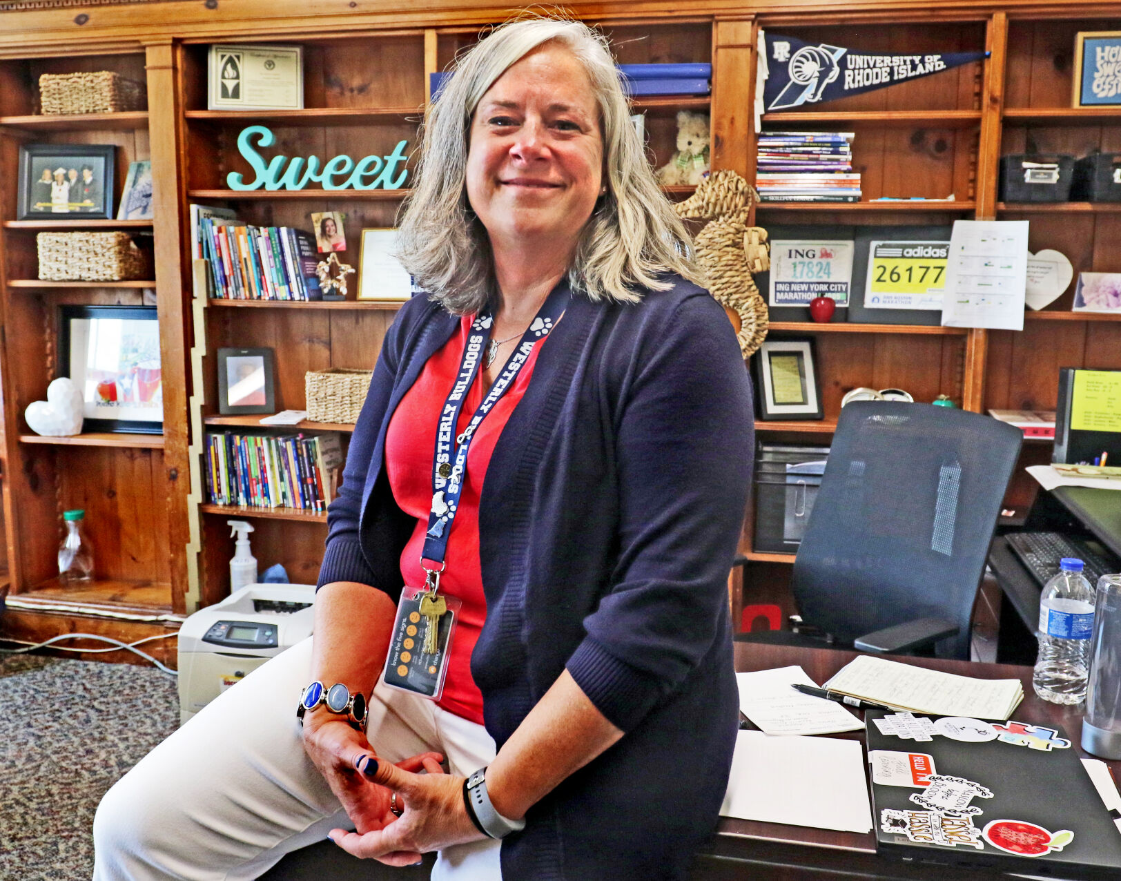 Homecoming of sorts: Donna Sweet returns to Westerly as assistant principal
