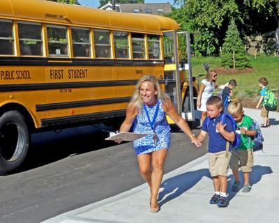 First-day-of-school rituals play out for teachers, students and their families in Westerly