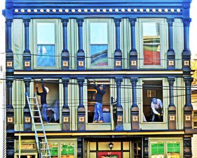 102319 WES CapaLbo building window work 200.JPG