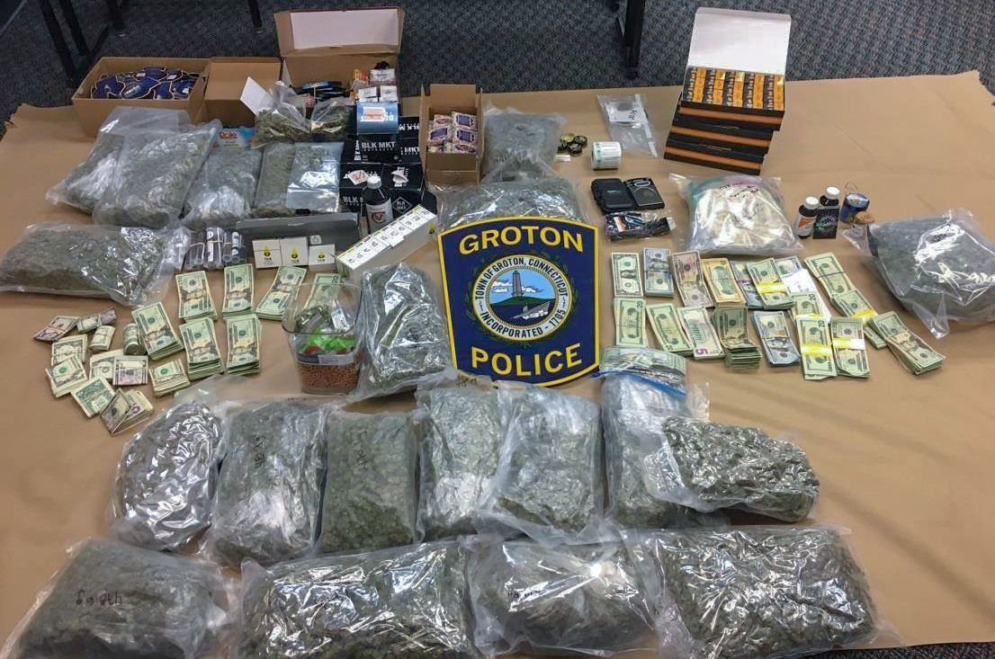 Groton man charged after police seize 23 pounds of marijuana