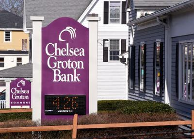 Earnings and FDIC community grade are higher at Chelsea Groton