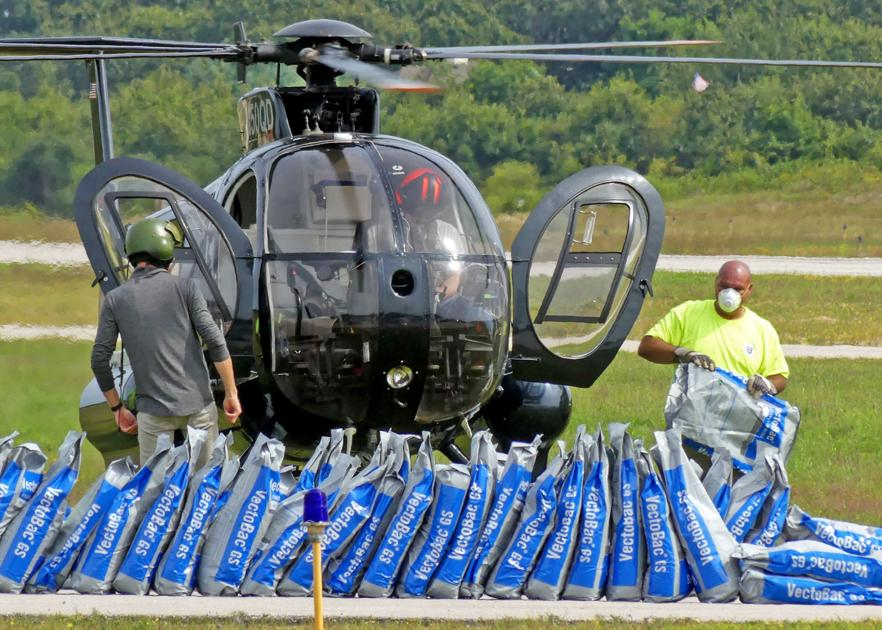 UPDATE: EEE spraying rescheduled to tonight for Westerly, Hopkinton, Charlestown - The Westerly Sun thumbnail