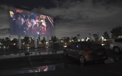 Virus Outbreak Drive-In Theatres