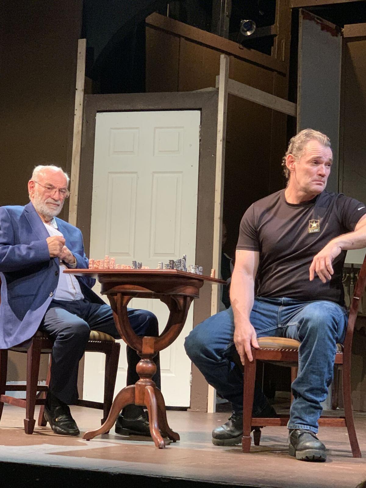 From left, Ralph Stokes and Tristan Cole Photo courtesy Granite Theatre