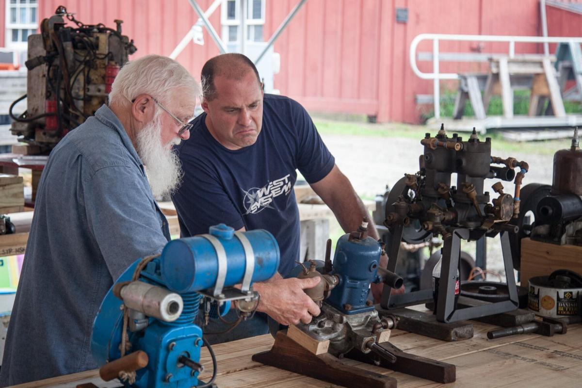 Mystic Seaport Antique Marine Engine Exposition