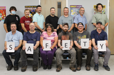 Davis-Standard's Connecticuit Safety Committee