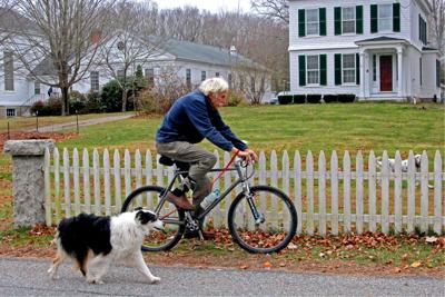 Along for the ride in North Stonington
