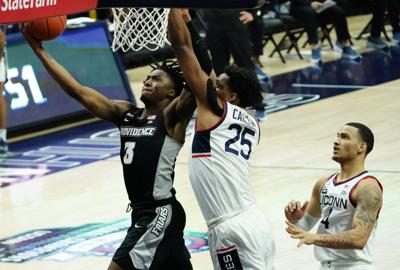 NCAA Basketball: Providence at Connecticut