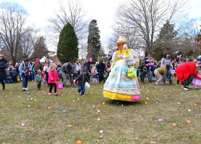 Easter Egg Hunt in Wilcox Park