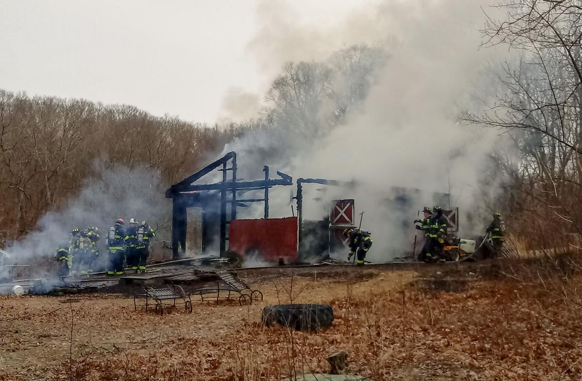 North Stonington fire
