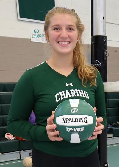 Kate Powers, Chariho Senior and standout three sport athlete (volleyball, softball, basketball). Chariho High School, August 19th, 2019. | Jackie L. Turner, Special to The Sun.