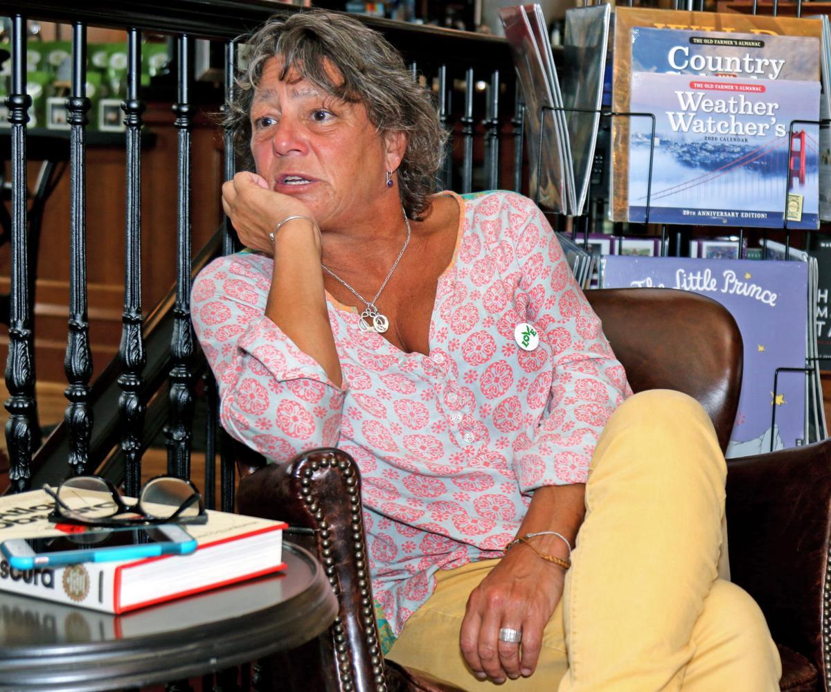 091219 WES Former RI poet laureate Lisa Starr 123.JPG