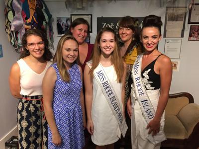 Miss R.I., Teen counterpart visit scholarship sponsor