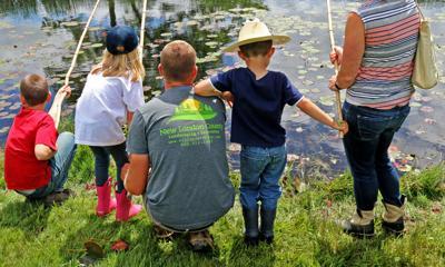 Huck Finn fishing derby