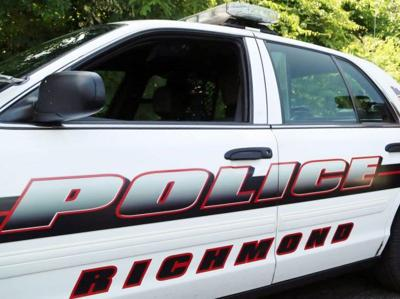 standing Richmond Police Department cruiser