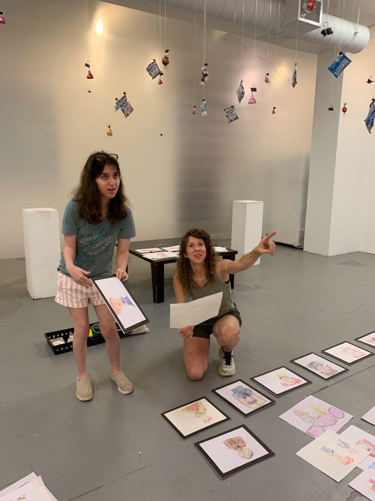 Sara Rekstis of Westerly has art show at Art Space Gallery