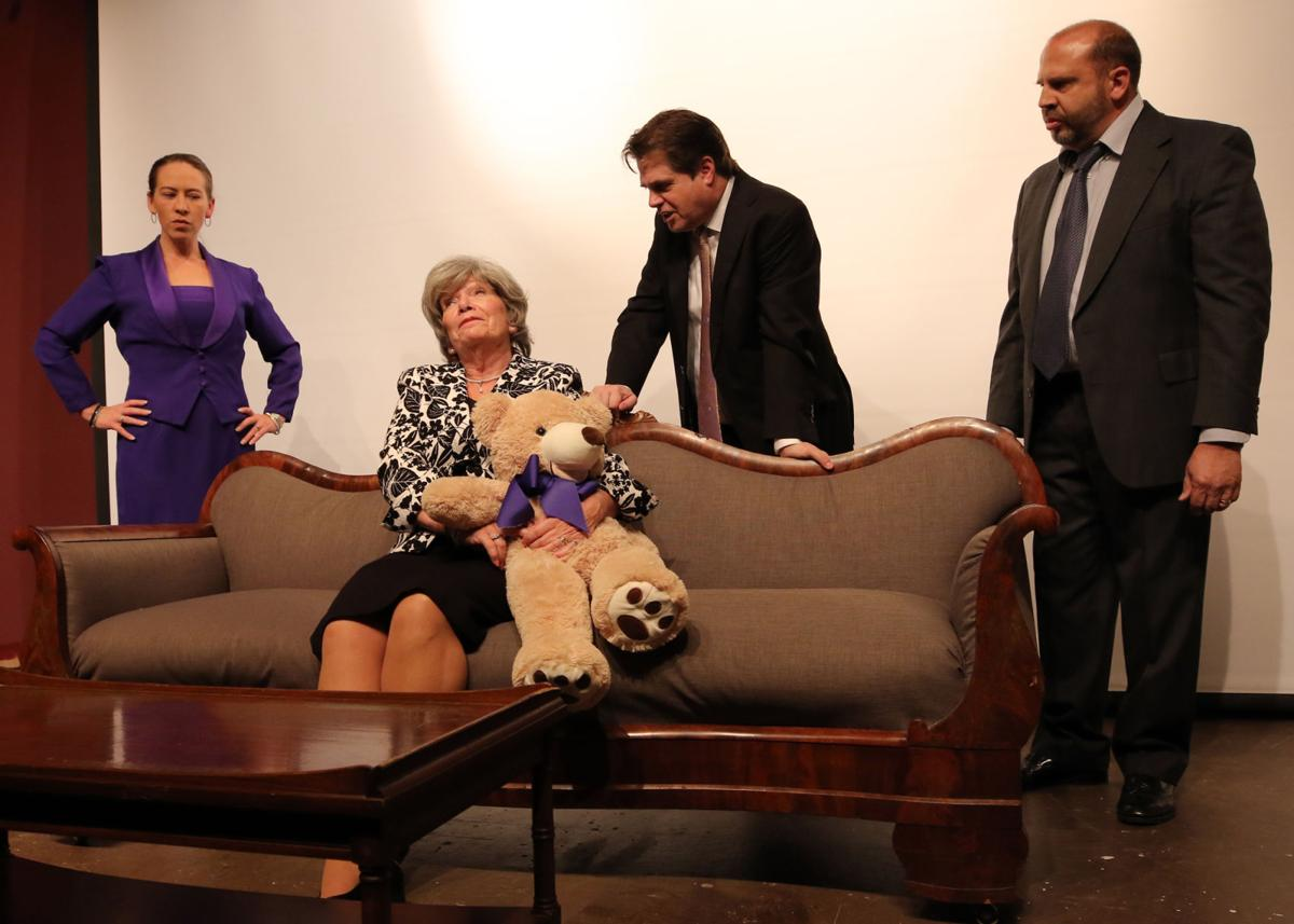 "The cast of The Granite Theater's production of ""The Curious Savage"""