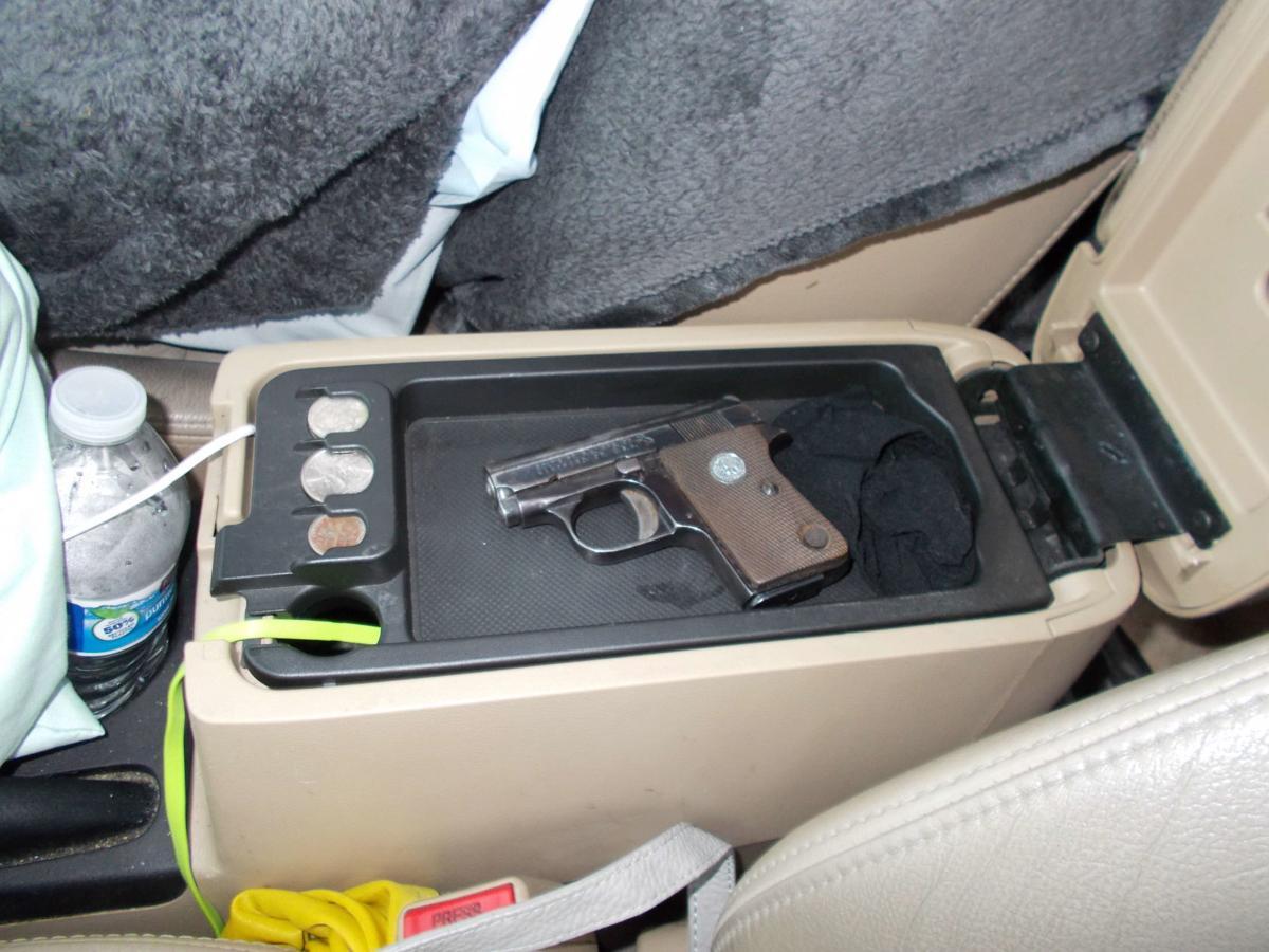 Guns, drugs seized