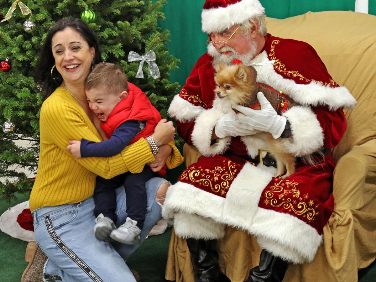 PHOTOS: Region's pets share the spirit of the season with Santa