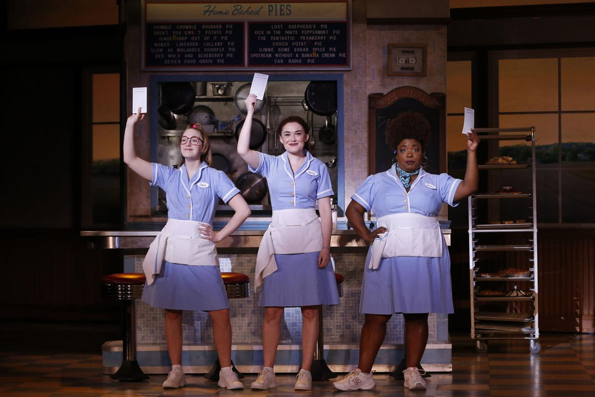 Ephie Aardema, Christine Dwyer and Maiesha McQueen in the National Tour of Waitress Photo Credit Geoff Burke_B3_5678a.jpg