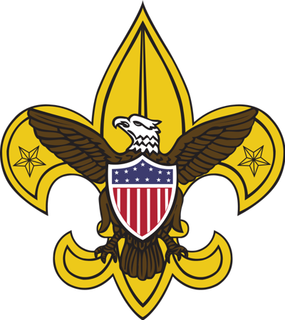 standing Boy Scouts of America