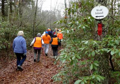 The Westerly Land Trust will lead several hikes on local trails, including at Crandall Family Preserve in Westerly on Sunday, Jan. 27.