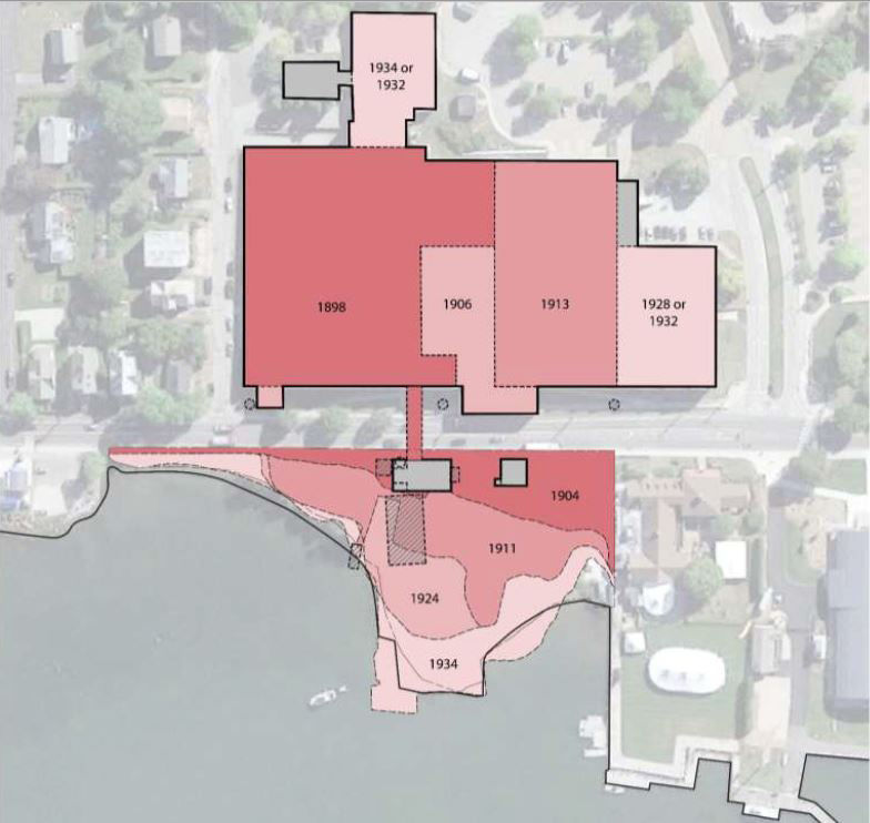 Boathouse Park map