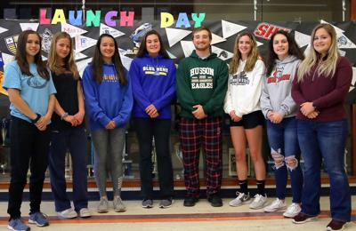 Westerly college bound athletes