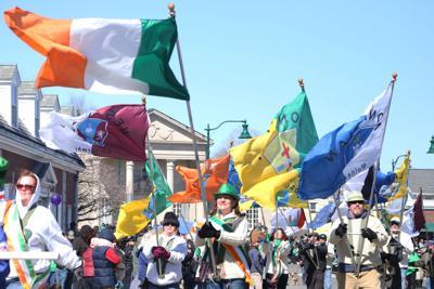 standing Mystic Irish Parade