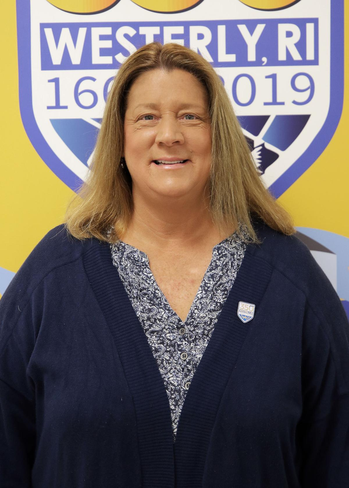 Diane Chiaradio-Bowdy, Westerly 350th Anniversary Committee Member, Ocean Community Chamber of Commerce, Saturday, April 13th, 2019, Westerly RI.   Jackie Turner, Special to The Sun.