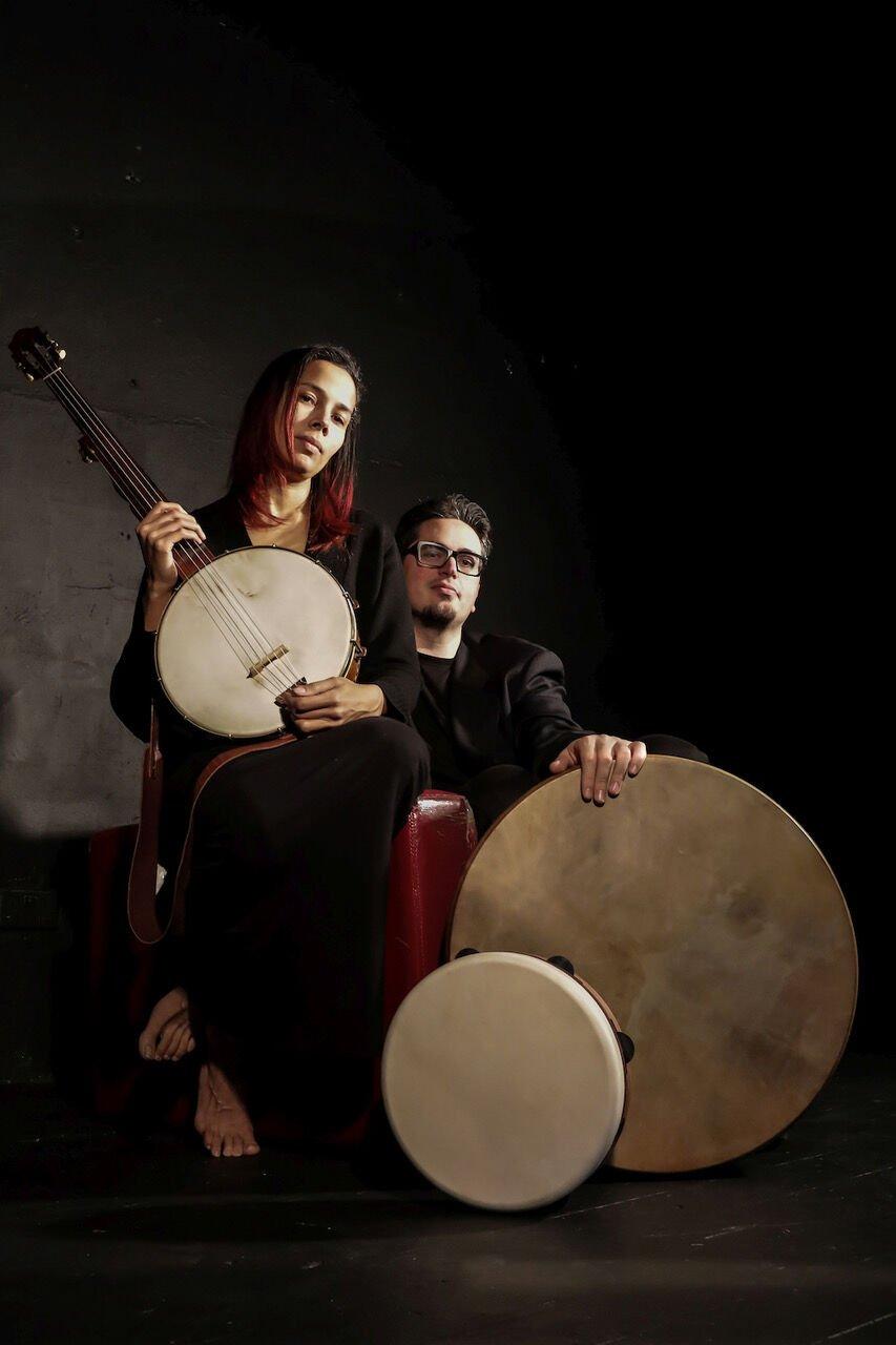 Rhiannon Giddens & Francesco Turrisi photo credit Karen Cox