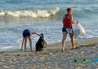 Progress on litter will start with a trash bin at the Misquamicut State Beach parking lot