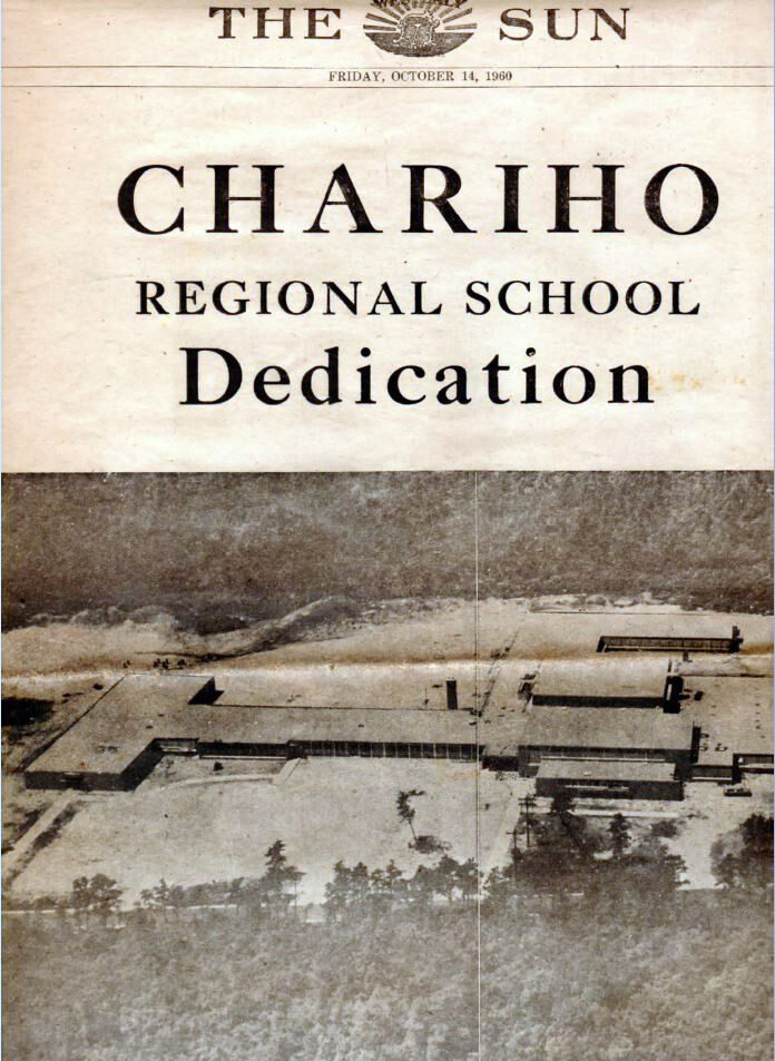 Chariho 60th - Sun front page.JPG