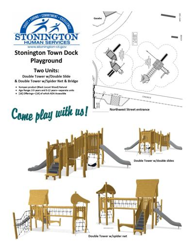 New playscape design revealed for town dock playground