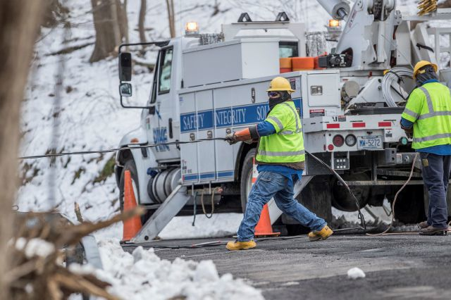 Slow recovery from storm as utilities rush to restore power in Northeast