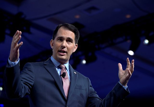 Walker is Wisconsin GOP choice as Midwest tests Trump appeal