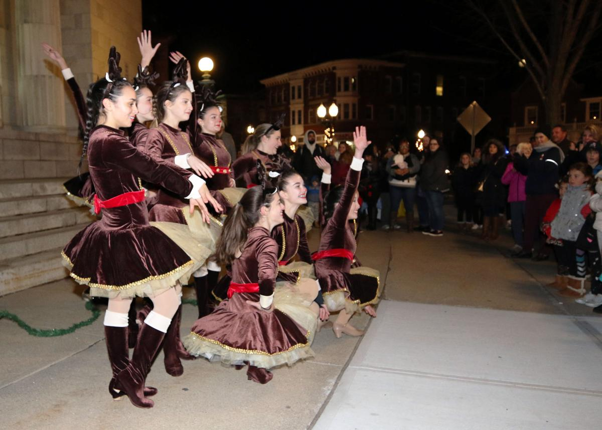 Entertainment of all fashion was on hand for the 22nd Annual Holiday Stroll & Luminaria, held Wednesday evening, December 5th, 2018 in downtown Westerly and Pawcatuck. | Jackie Turner, Special to The Sun.