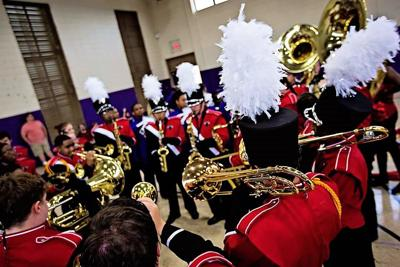 Panther Sound Rained Perfection at Rayne Band Fest