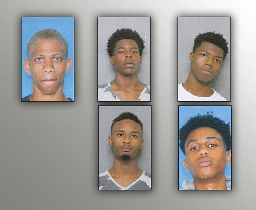 Five arrested in double homicide