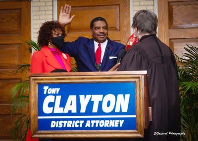 Tony Clayton Swearing In 2021