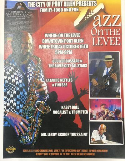 Jazz on the levee Flyer