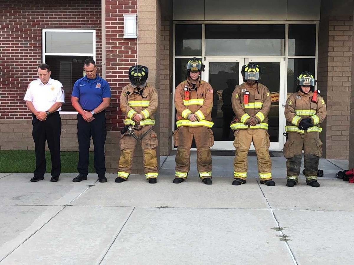 WBR Fire District honors fallen first responders with 'Sounding of the Sirens'