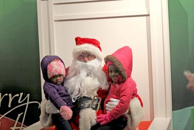 Reflections of the Season 2016 kids with Santa