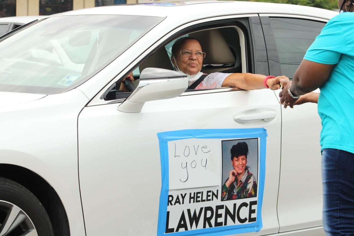 Ray Helen at Justice Parade 2020