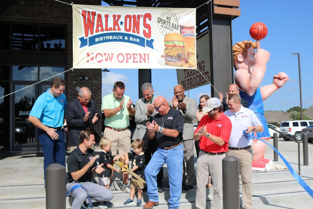 Walk-Ons Ribbon Cutting