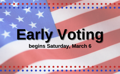 Early Voting 2021 Special Election