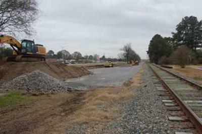 Railroad expansion chugging along