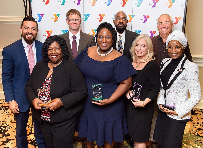 Taesia Shello recognized as Westside YMCA Volunteer of the Year