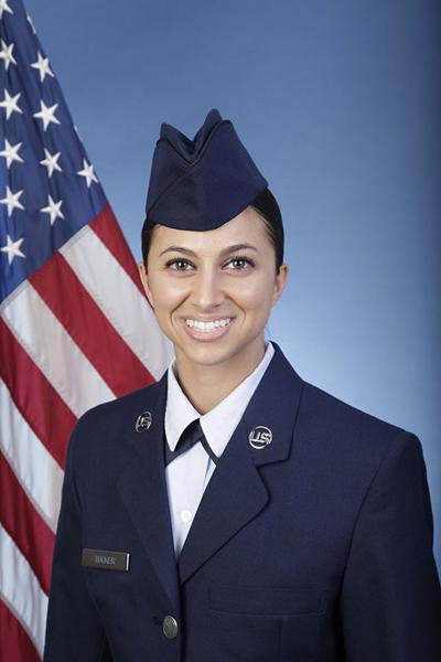 Laura Tucker, air graduate