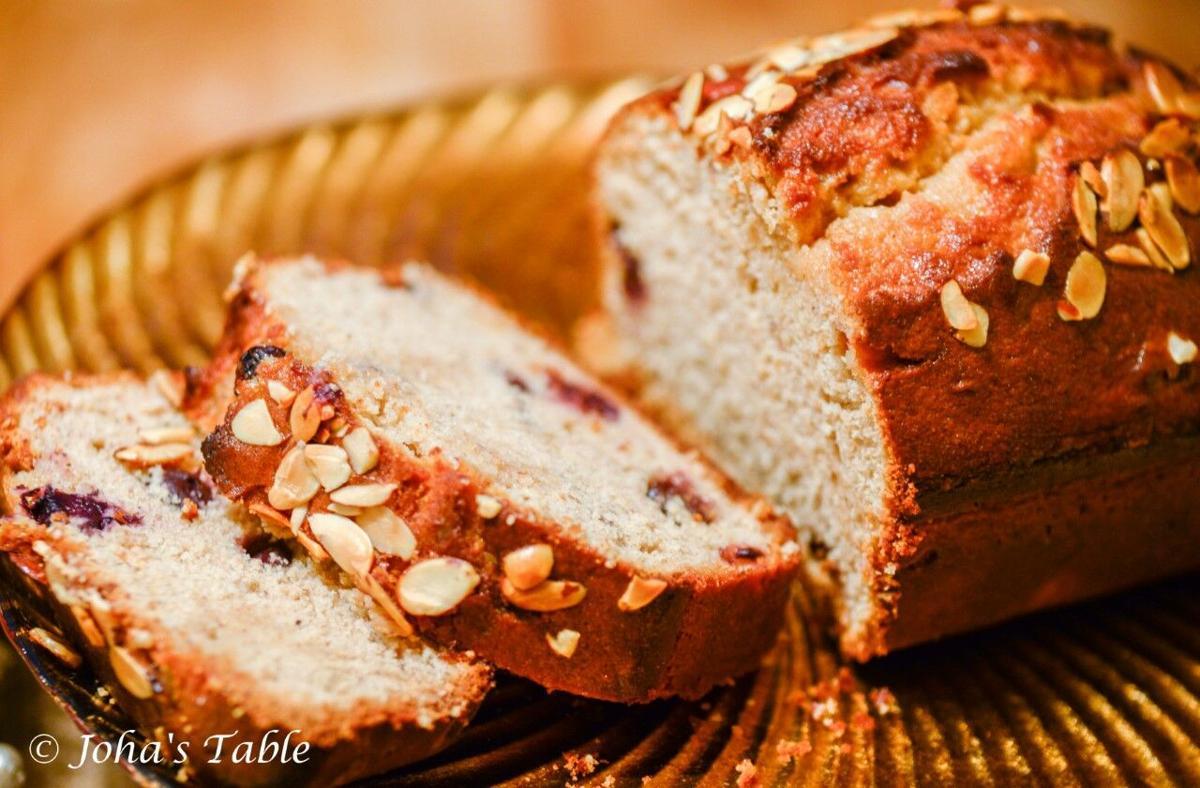 Almond Fruity Bread
